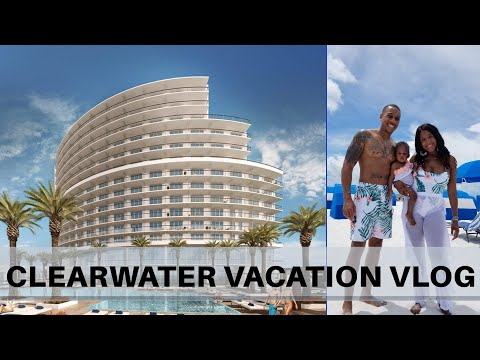 Clearwater Beach Florida Vacation Vlog August 2020 | Opal Sands Resort Tour