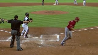 Pollock steals home for 4-0 lead