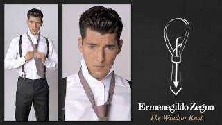 Как завязывать галстук Виндзорским узлом