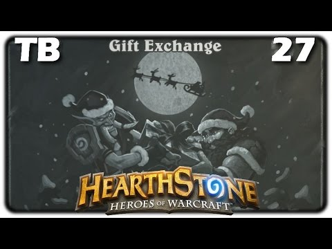 Tavern Brawl 27: Gift Exchange - Discover Cards From Crates [Hearthstone F2P Tavern Brawl Week #27]