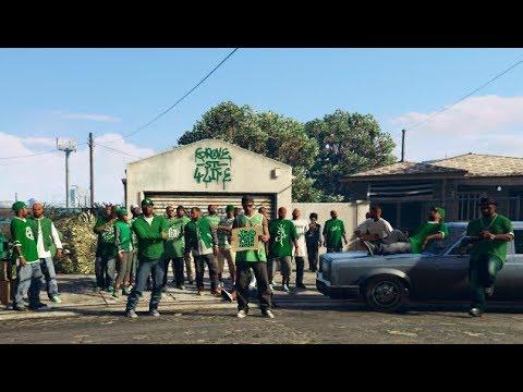 GTA 5 - The Grove Street Families Finally Take Back San Andreas!