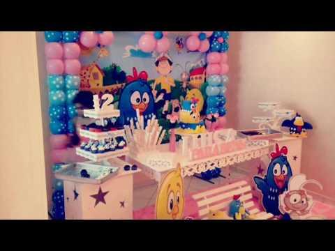Decoração Aniversário Galinha Pintadinha Rosa Festa Em Casa Youtube