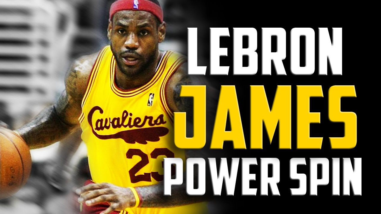 55234d8f2be LeBron James Power Spin  How to Basketball Moves - YouTube