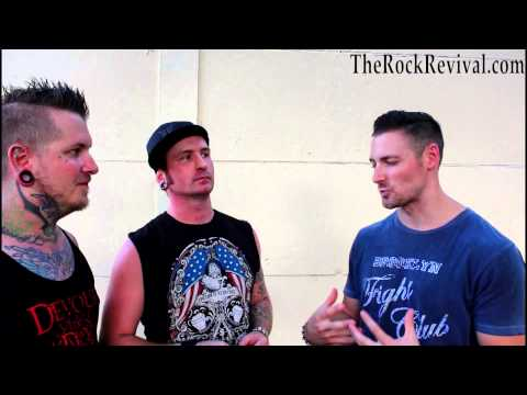 3 Years Hollow Interview at Uproar Festival 2014