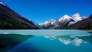 Озёра и реки горного Алтая Алтайские фотосюжеты Lakes of Altai SIBERIA (HD 720)