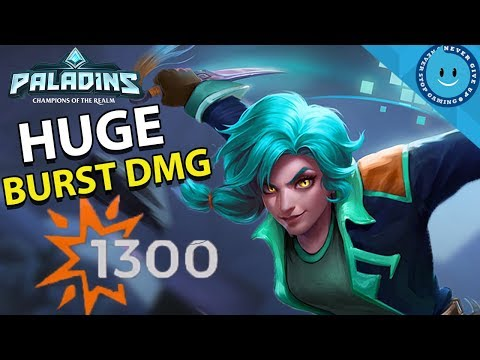 MAEVE DOUBLE BURST DAMAGE BUILD! AND 60% DMG REDUCTION?! Street Justice Maeve (Paladins Gameplay)