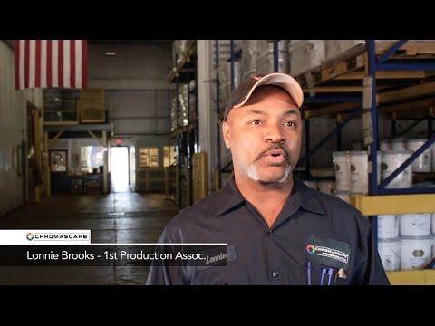 Lonnie Brooks, First Production Associate - ChromaScape