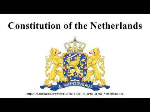 Constitution of the Netherlands