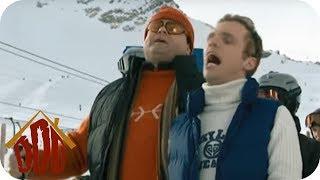 Stau am Skilift