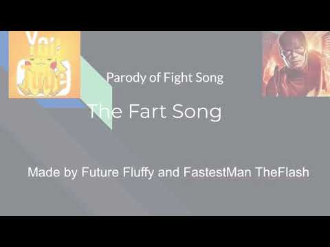 The Fart Song-Parody of the Fight Song-Karaoke Version-Team Tazer