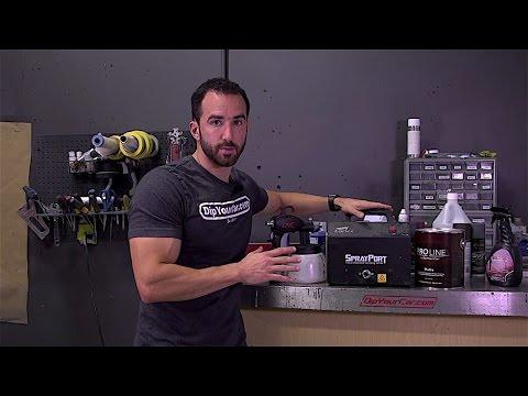 Spraying DYC ProLine™ with a Turbine