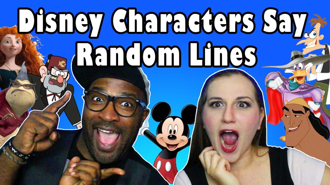 Download Disney Characters Say Random Lines ft. Stewdippin - Madi2theMax