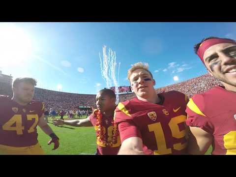 USC FOOTBALL vs UCLA football - FILMED BY PLAYER!!! (GoPro HD)
