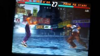 PCSX ReARMed r17 Running Tekken 3 On Caanoo at Great Speed!!!