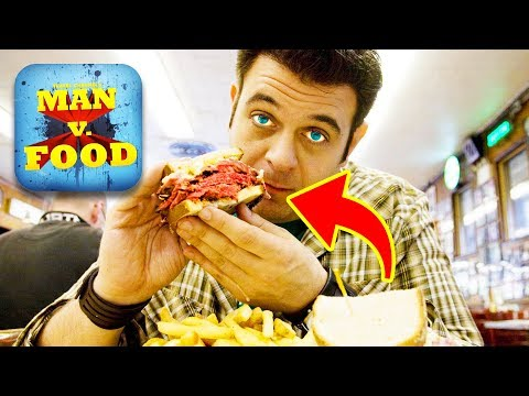 Top 10 Untold Truths of MAN v. FOOD (Adam Richman & Casey Webb)