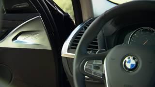 2018 BMW X3 interior design