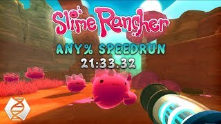 Slime Rancher Any% Speedrun in 21:33.32