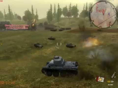 Panzer elite action gold / танковая гвардия + дюны в огне rus.