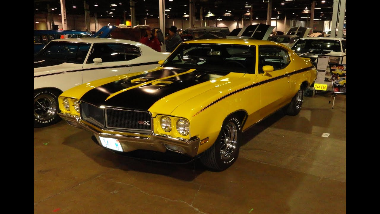 1970 Buick Gsx In Factory Saturn Yellow Paint My Car
