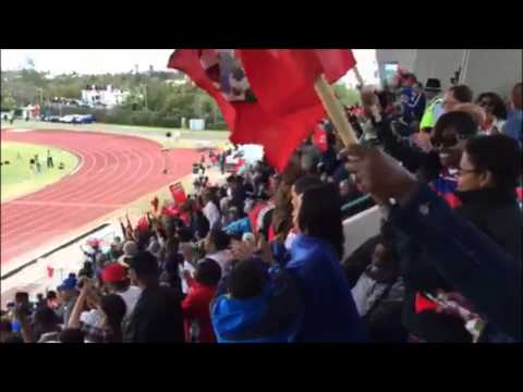 Celebrations After Bermuda Goal, March 29 2015