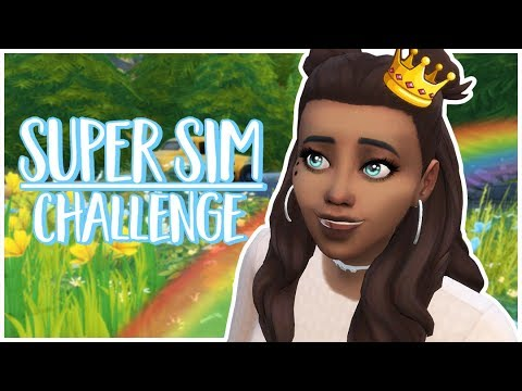 A NEW STORY! | The Super Sim Challenge!👑😍