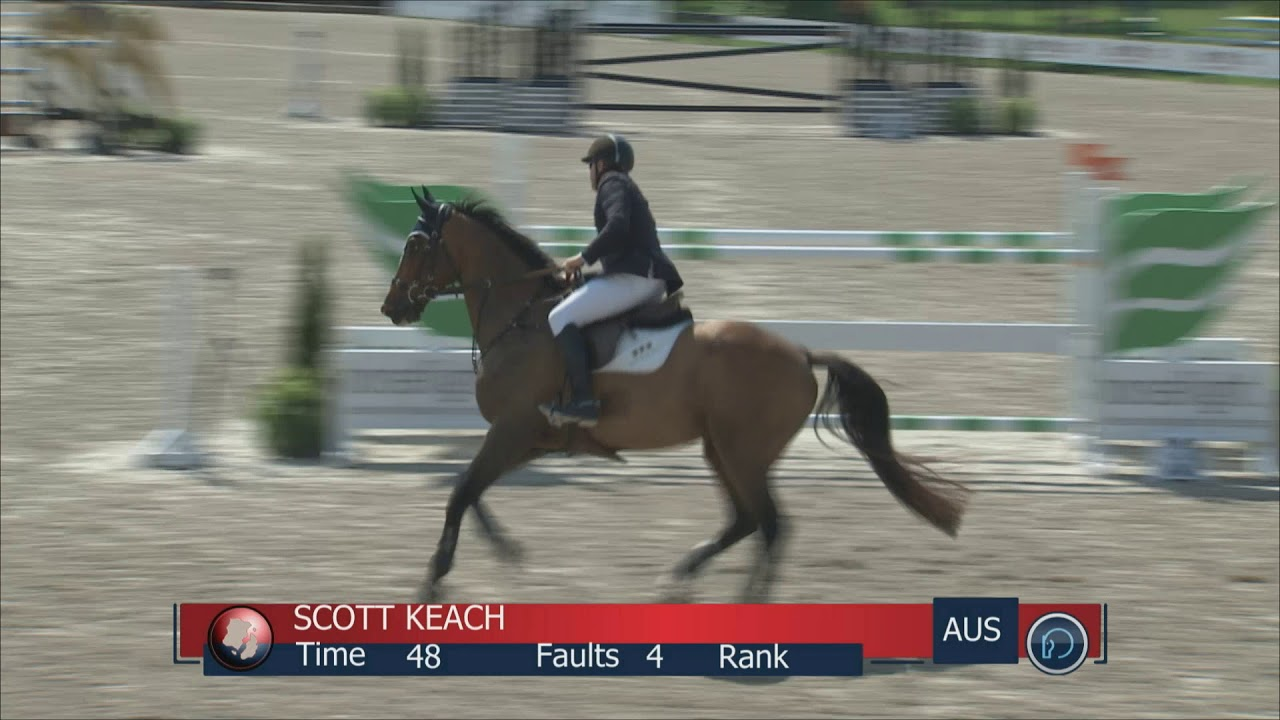 Class 27 Scott Keach riding Born To Be Piccobello Z