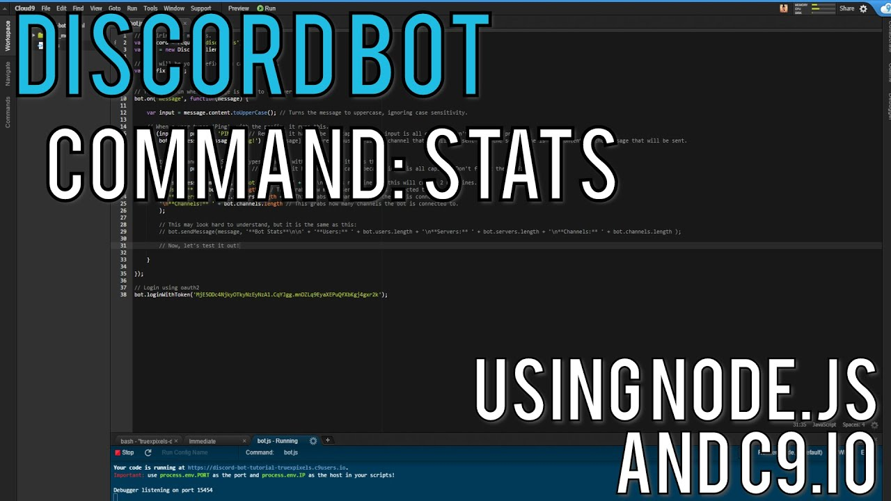 Discord Bot Part 2: Creating The Stats Command