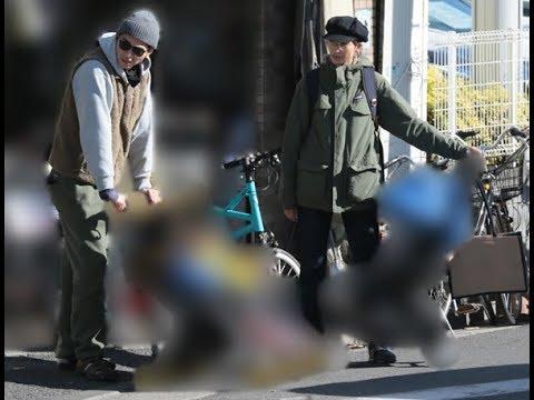 杏&東出昌大 子供3人とベビーカーでお出かけ写真