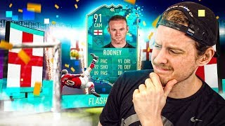 ROONEY THE ROOSTER?! 91 FLASHBACK ROONEY PLAYER REVIEW! FIFA 20 Ultimate Team