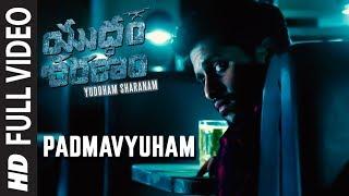 Padmavyuham Video Song - Yuddham Sharanam   Chay Akkineni   Srikanth   Lavanya Tripathi