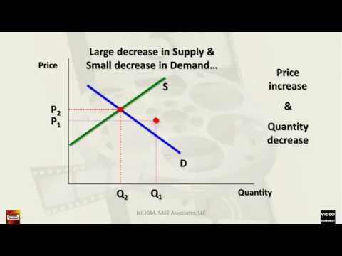 Understanding Supply and Demand Equilibrium Change in 32 min (CC) -- GenEcon 3