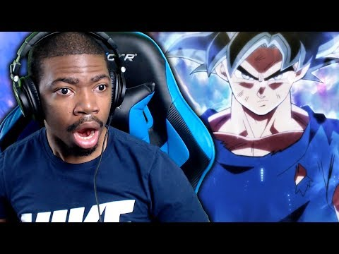Thumbnail: ULTRA INSTINCT GOKU IS INSANE!!! Dragon Ball Super Episode 109 & 110 Jiren vs Goku Live Reaction!