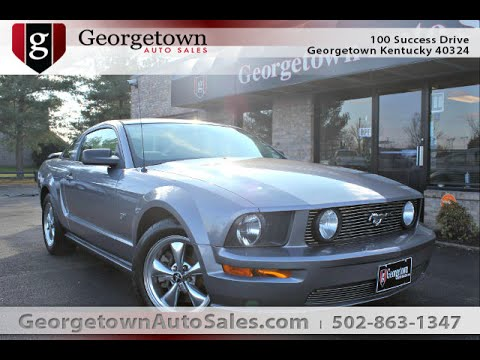 Used 2006 Ford Mustang GT light blue for sale Georgetown Auto Sales Ky & Used 2006 Ford Mustang GT light blue for sale Georgetown Auto ... markmcfarlin.com