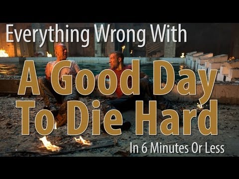 Everything Wrong With A Good Day To Die Hard In 6 Minutes Or Less