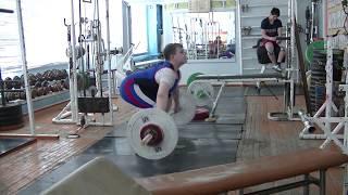 Бикмулин Илья, 11 лет, вк 77 Рывок 32 кг на 2 раза 4 подхода