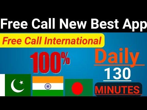 Free Call New App :daily 130 Minutes Now Free Call To Pakistan India Bangladesh Hindi-Urdu