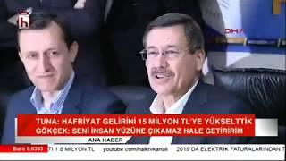 Melih Gökçek 39 ten Mustafa Tuna 39 ya tehdit gibi sözler