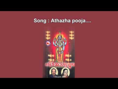 Athazhapooja - Niramalyapooja