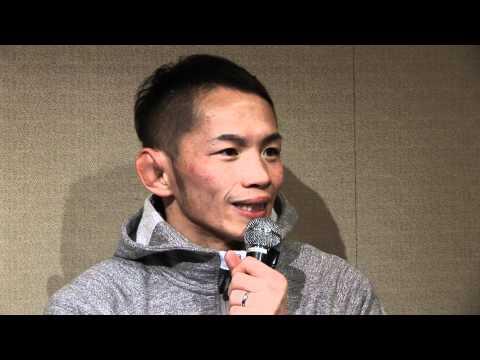 Caol Uno's Pre-Fight Interview