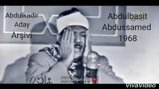 Abdulbasit Abdussamed Yine Zirve Okuyuşu Maşaallah