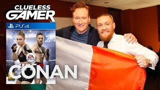 "Clueless Gamer: ""UFC 2"" With Conor McGregor  - CONAN on TBS"