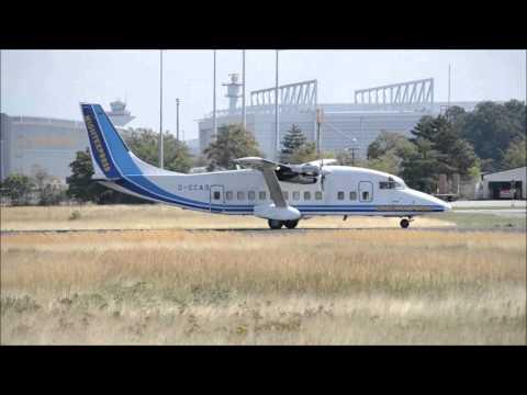 Nightexpress Short 360-300 Takeoff RWY 18 @Frankfurt Airport