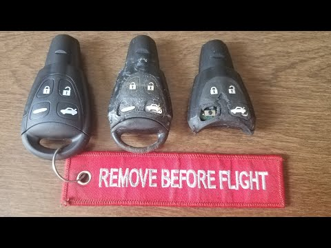 Saab Key Fob Repair!