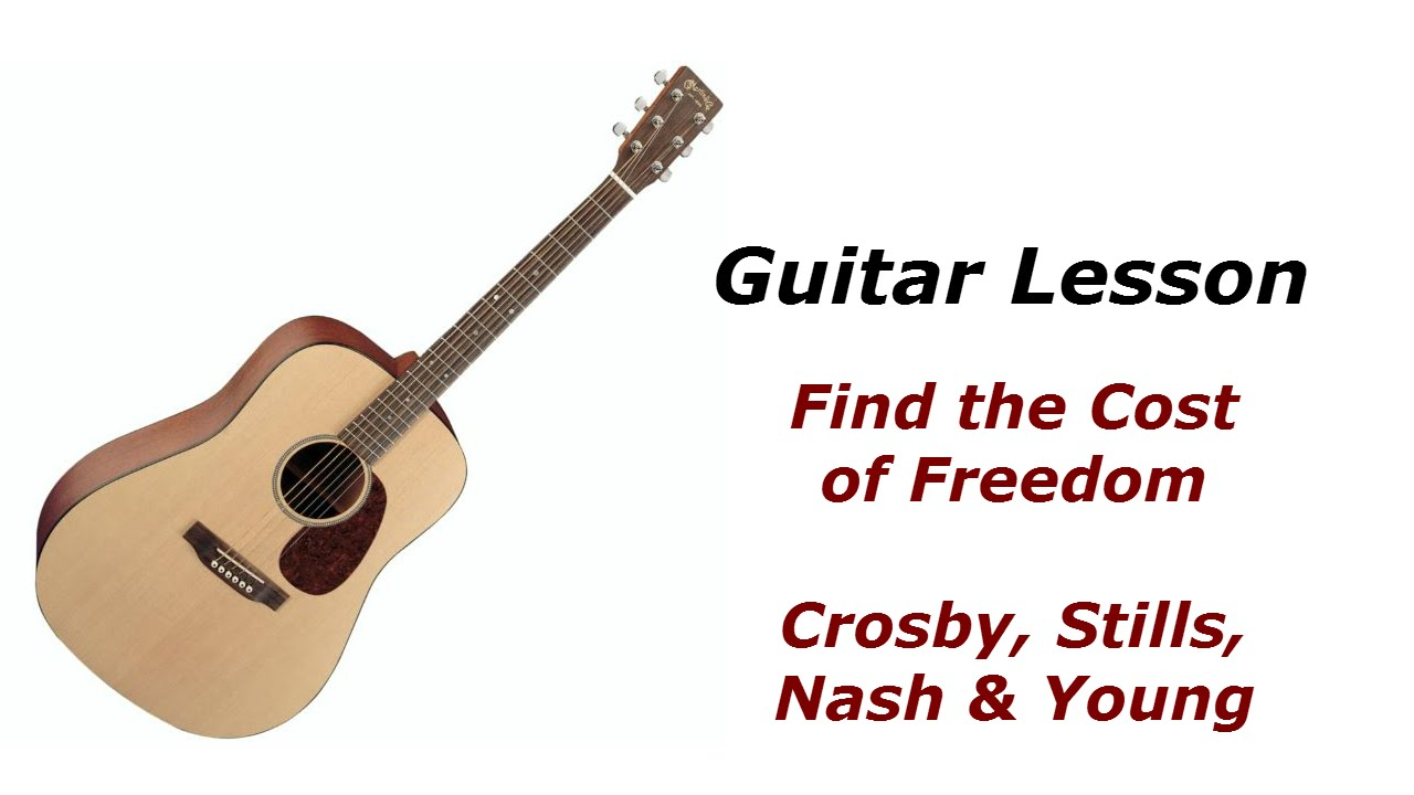 find the cost of freedom chords # 11