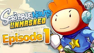 Scribblenauts Unmasked Gameplay Walkthrough - Episode 1 - DC Comics Super Heroes! Gotham City!