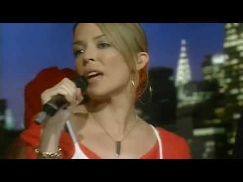 Kylie Minogue - Love At First Sight (Live Regis and Kelly 2002)