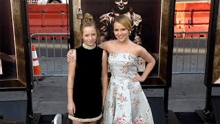 "Lulu Wilson and Talitha Bateman ""Annabelle: Creation"" Premiere in Los Angeles"