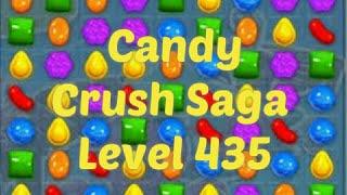 Candy Crush Saga Level 435 Game Play
