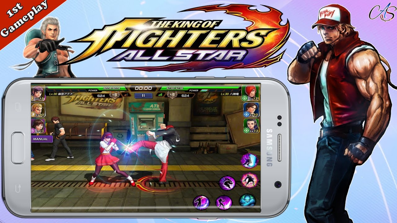 The King Of Fighters Allstar Netmarble Download Now For Android