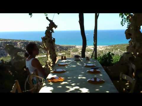 The Last Castle taverna near Lara Bay Cyprus